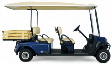 Noleggio Golf Car 4 posti + Portabagagli