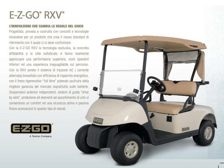 Golf Car 2 Posti Facile Da Noleggiare Con Abm Prezzi