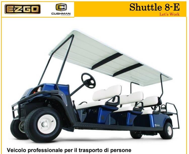 Golf Car 8 Posti Nuova Prezzi Veicolo 8 Posti Ezego