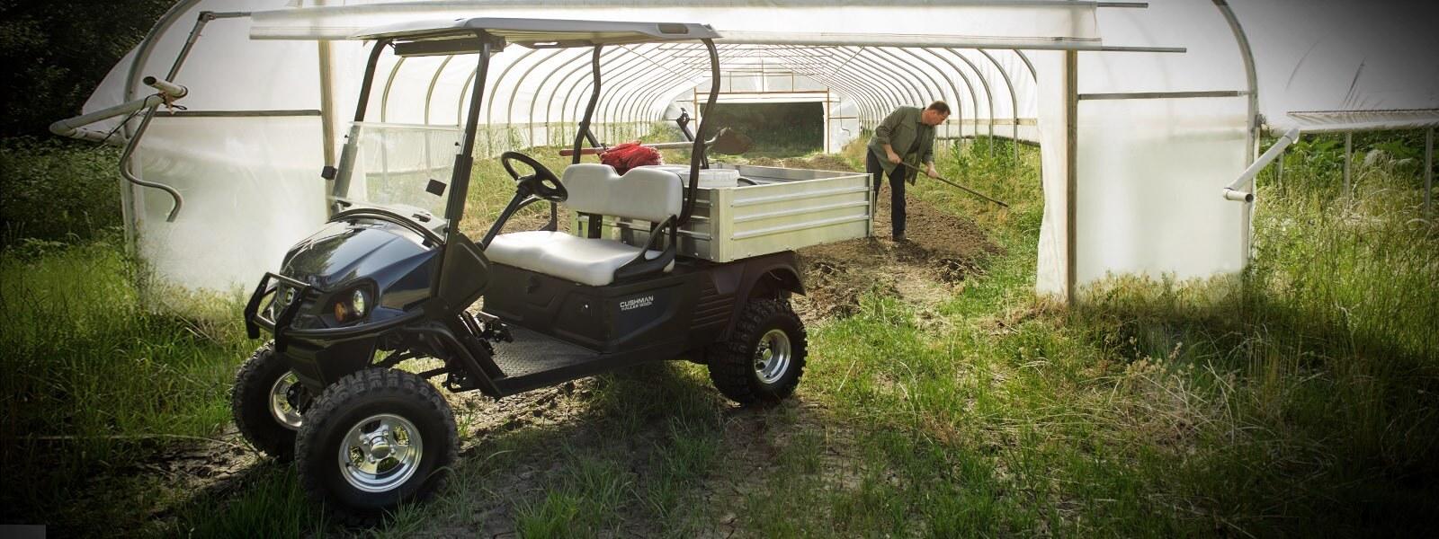 Golf car per Giardinaggio